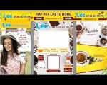 Máy pha cà phê tự động LEE CAFETERIA 4.0