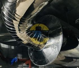 Bảo ôn cách nhiệt ống khói máy phát điện