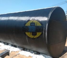 Bồn dầu máy phát điện 25 khối
