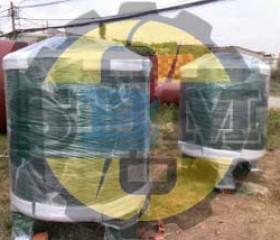 Bồn dầu tròn máy phát điện 1000 lit