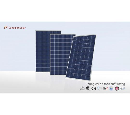 Tấm Pin Canadian Solar 345W
