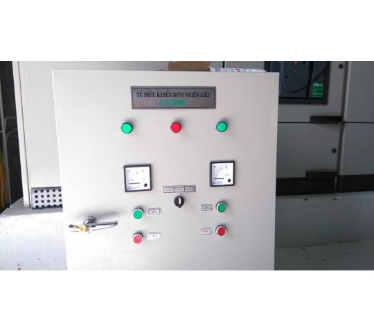 Tủ điều khiển bơm dầu cho máy phát điện